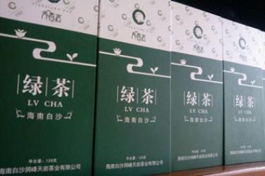 白沙天香岩绿茶