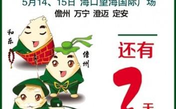 定安16家粽子企业参加海南名粽展销会