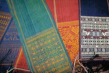黎族木棉织锦