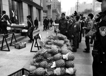 三亚无证水果店被查 店主被拘5日