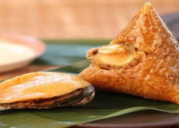 儋州粽子在海口明珠广场大展销