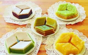 椰汁板兰糕