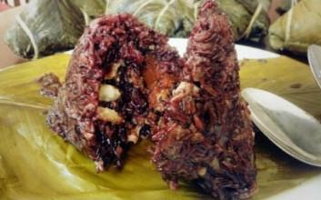 儋州八一总场紫米粽子供不应求