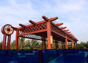 海口秀英欢乐海岸美食广场盛大开业