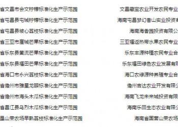 乐中荔枝基地喜获全国标准化生产示范园证书