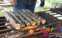 海南火烤甘蔗,竟出奇的好吃!