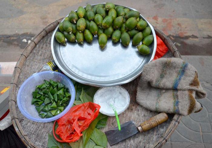 海南商贩销售的槟榔