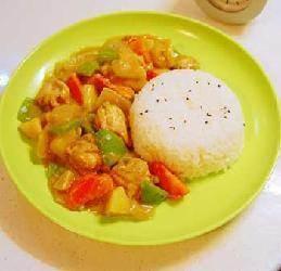 椰香咖喱鸡