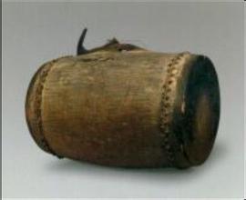 黎族独木皮鼓