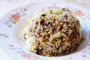 山兰粽子饭