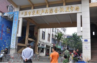 三亚鸿港市场