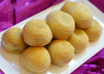 糖浆酥皮琼式月饼