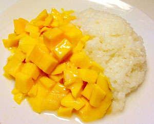 椰子芒果糯米饭