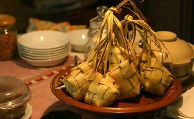山兰椰叶粽