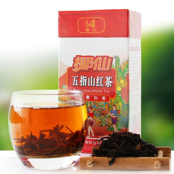 椰仙牌五指山红茶