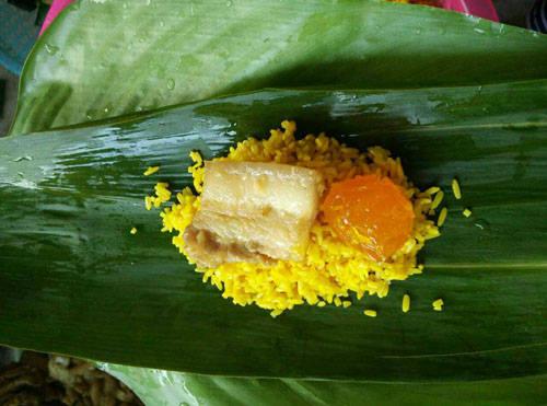 海南苗家五色粽制作方法