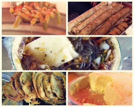 群众街:传统小吃最齐全的小吃街