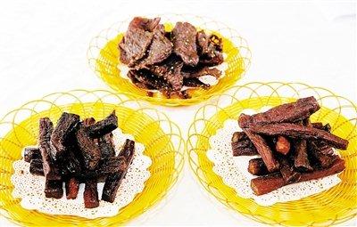 长坡牛肉干