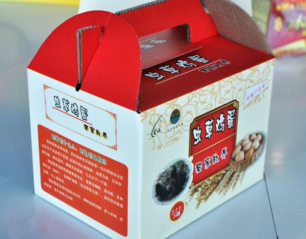 白沙虫草鸡蛋(包装)