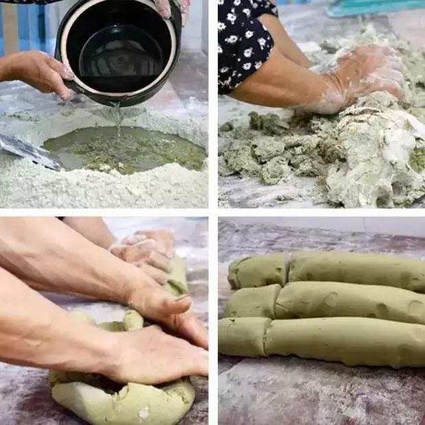 鸡屎藤月饼制作方法