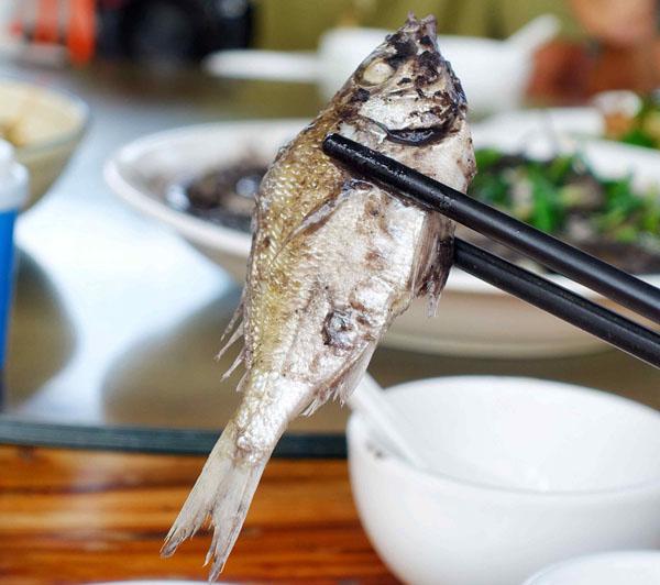 扁豆焖海鱼